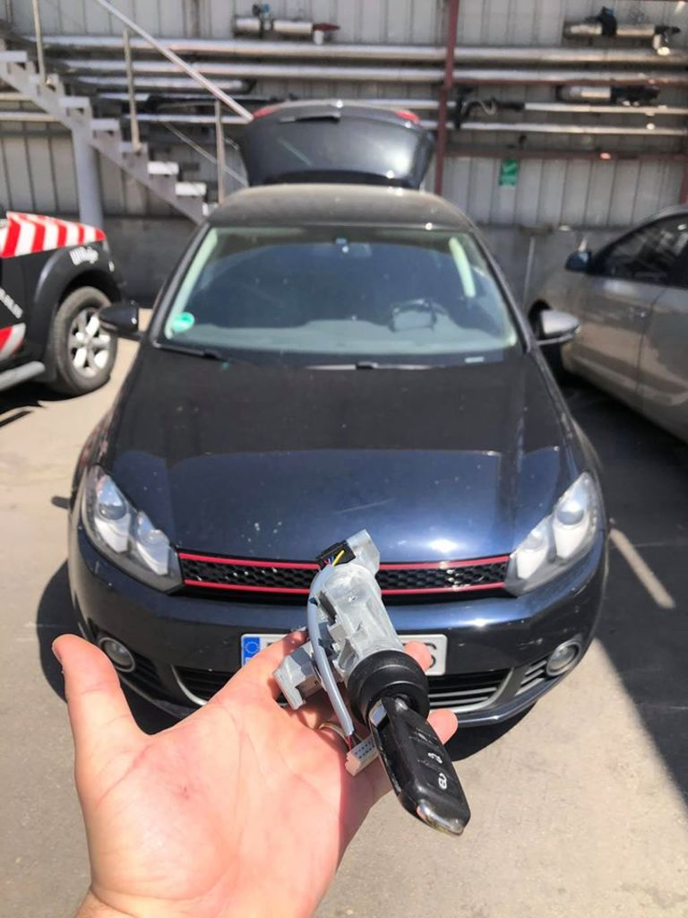 Contact Blocat Volkswagen Golf 6 2010 Probleme Contact