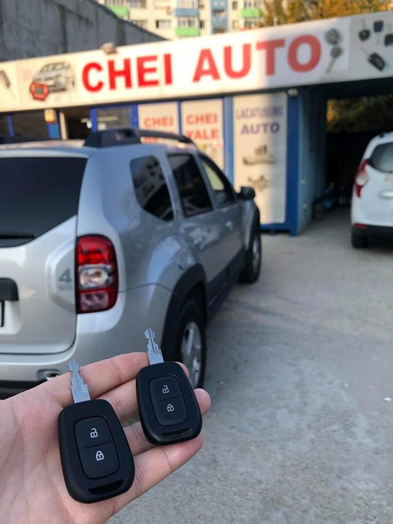 Dublura Cheie Cu Telecomanda Dacia Duster 2017