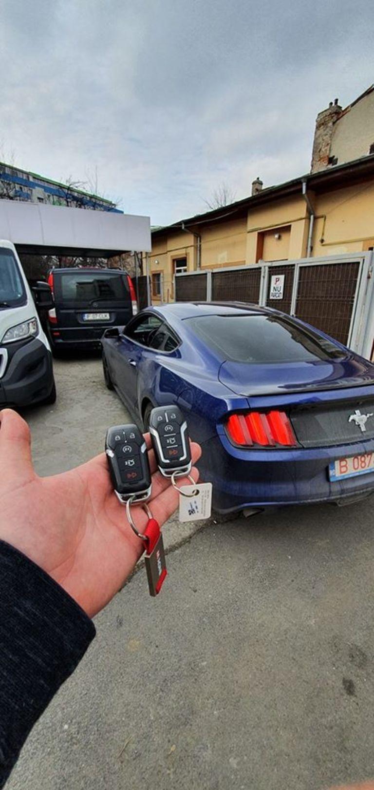 Dublura Cheie Ford Mustang 2016 Keyless